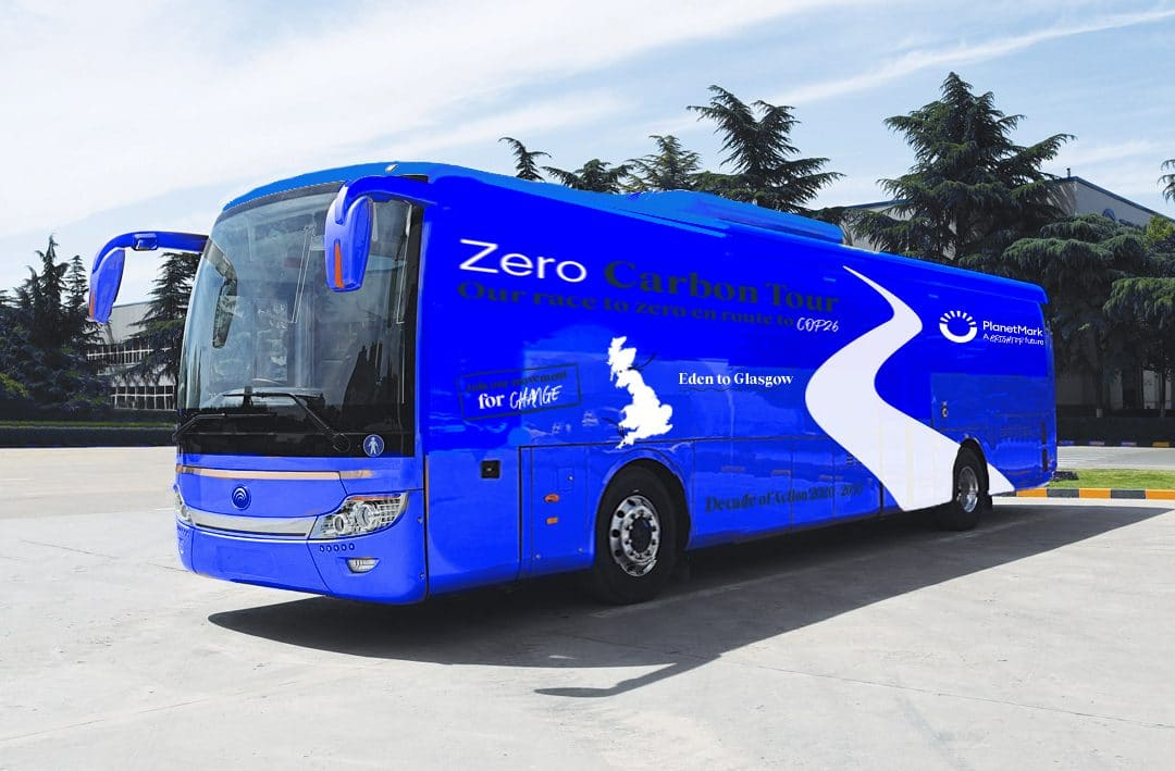Planet Mark launches Zero Carbon Tour and UK's first 'Carbon Battle Bus'