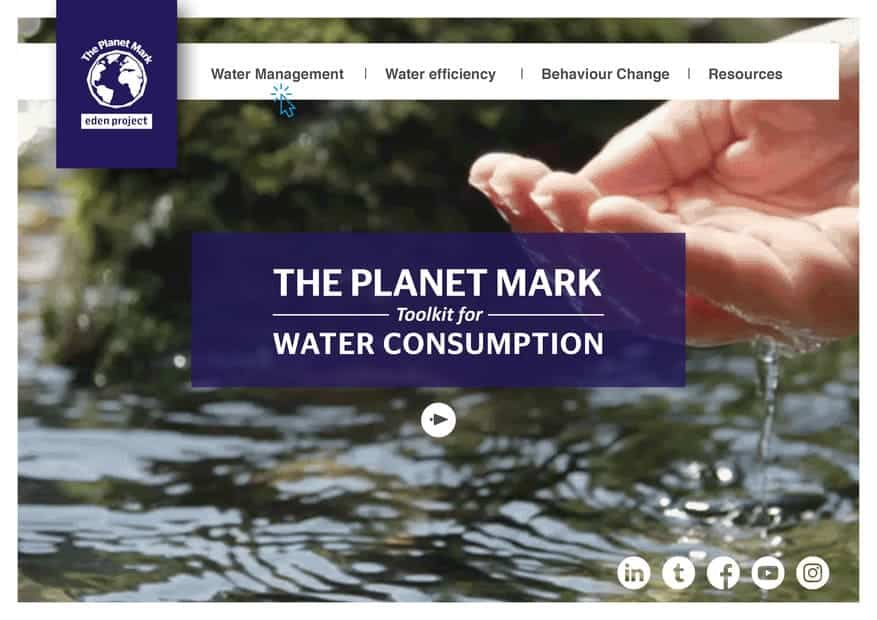Planet Mark Toolkit for Water Consumption