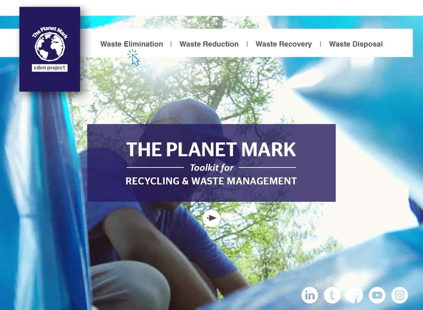 Planet Mark Toolkit For Recycling and Waste Management