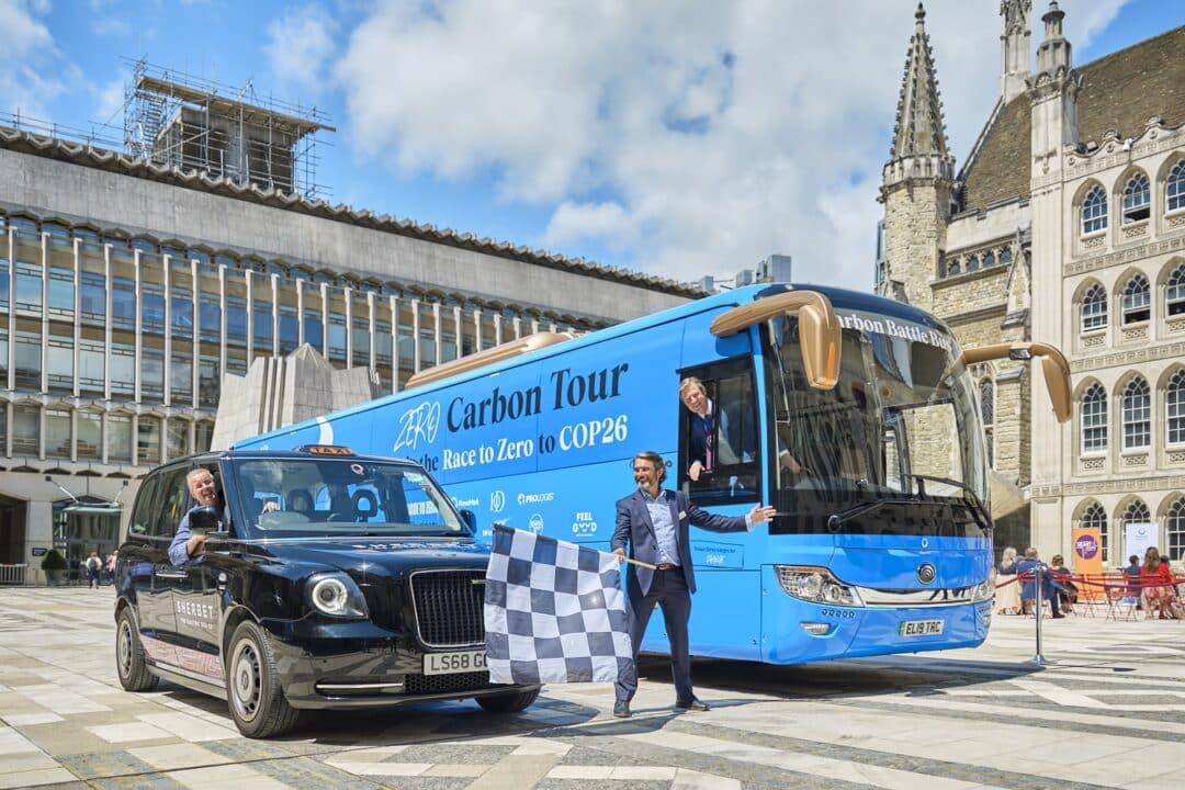 The Carbon Battle Bus debut