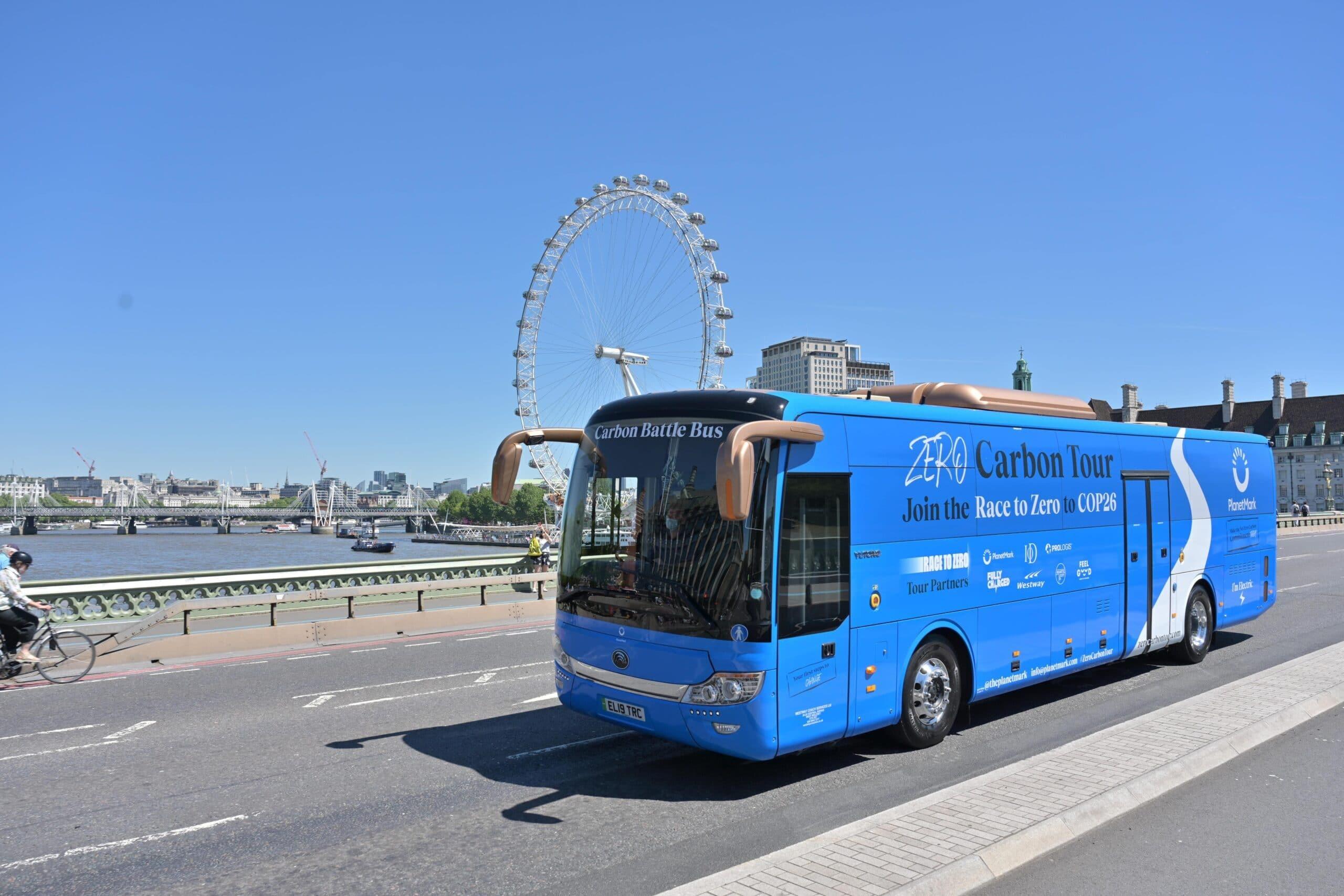 Carbon Battle Bus London